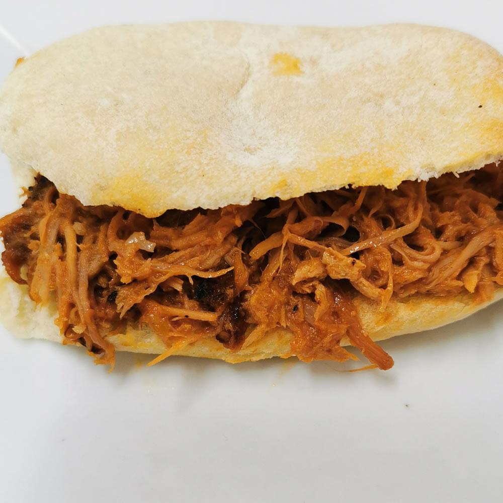 Sándwich de Cerdo BBQ - Tapas de campo